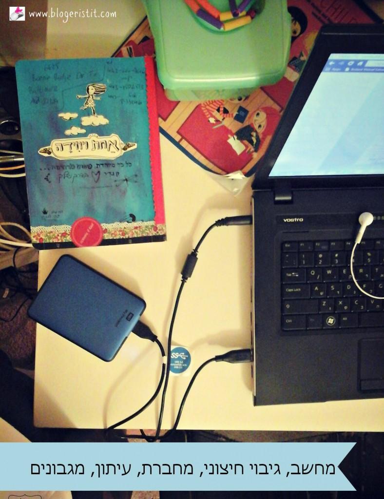 מחברת הרשימות, מחשב וגיבוי חיצוני