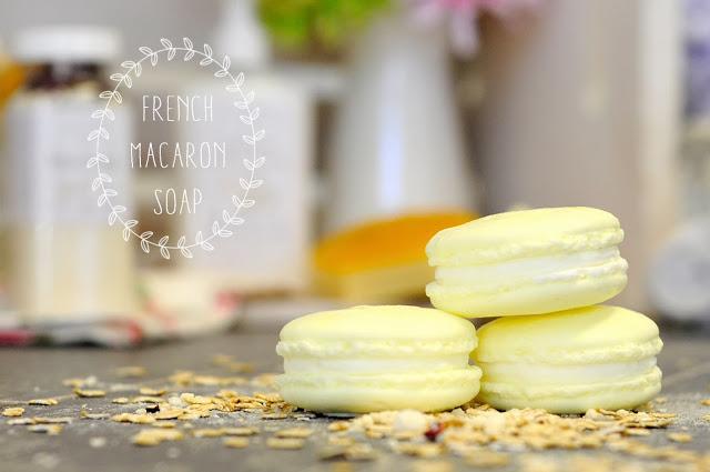 french vanilla macaron soap