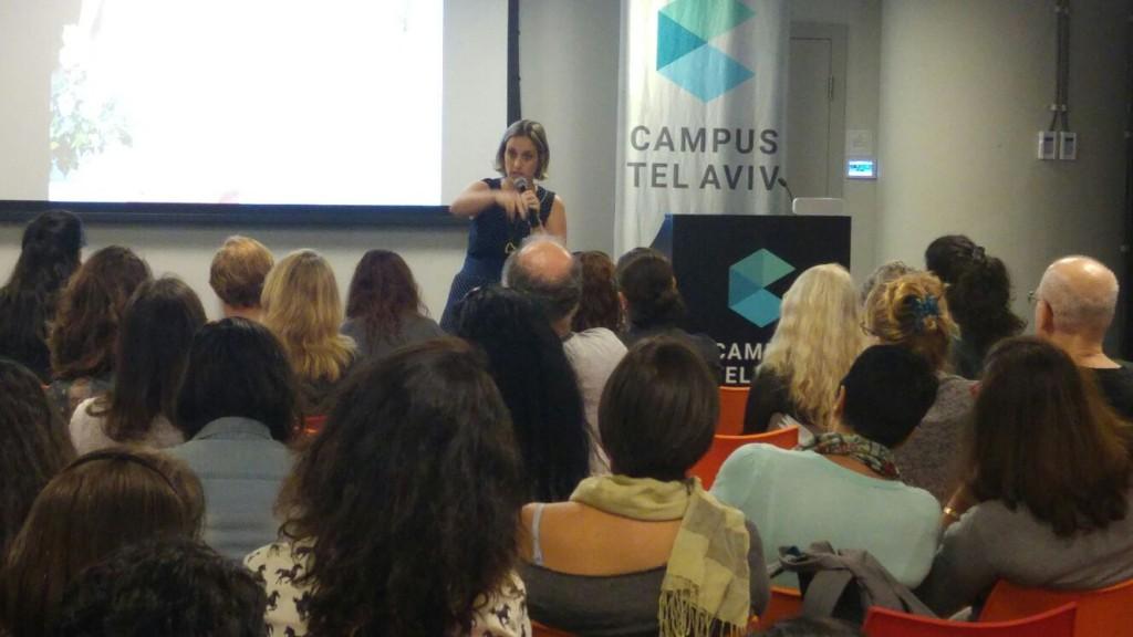 הרצאה אודות פינטרסט בקמפוס TLV