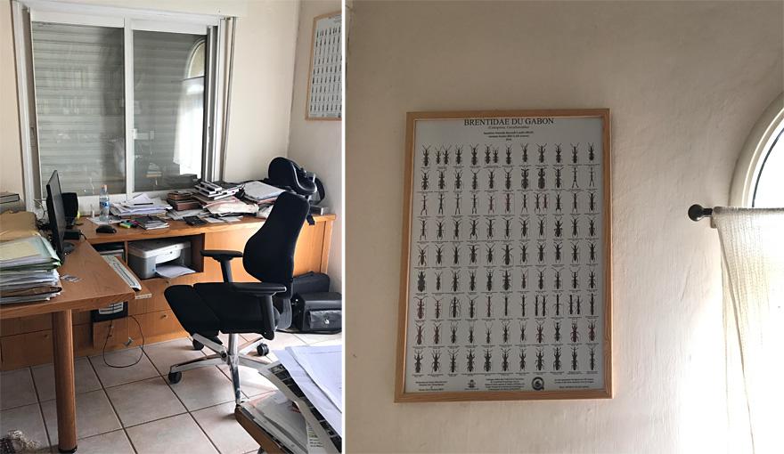 חדר העבודה של אבא שלי. לא פינטרסט אבל עם זה ננצח!