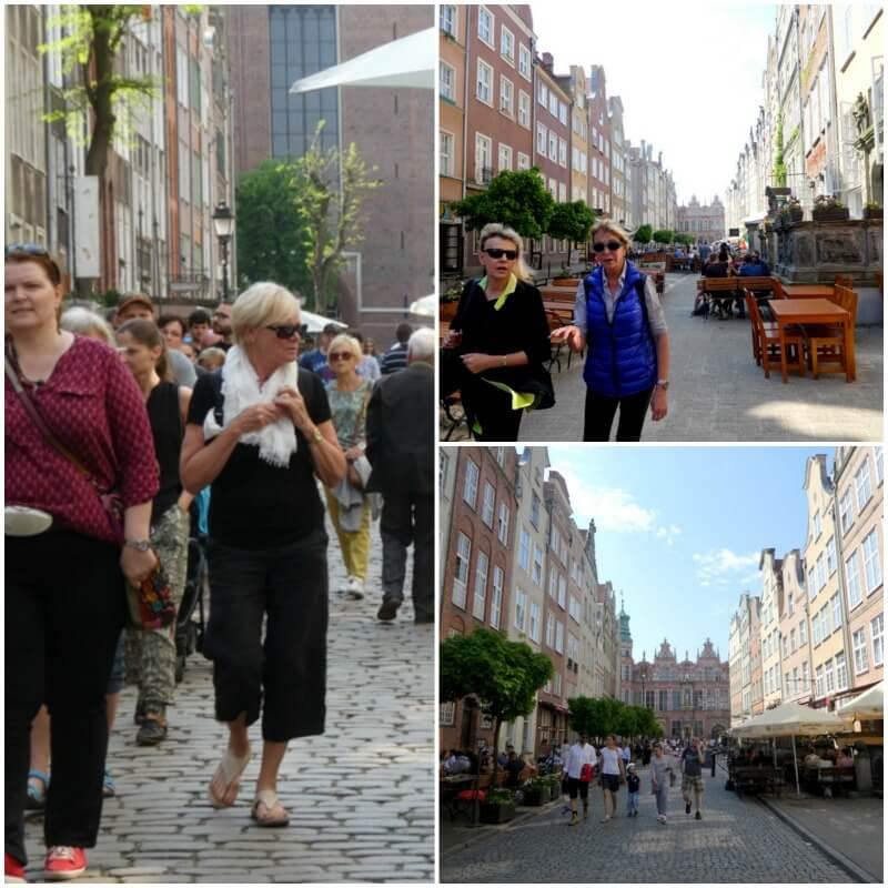 אנשים ברחוב בפולין