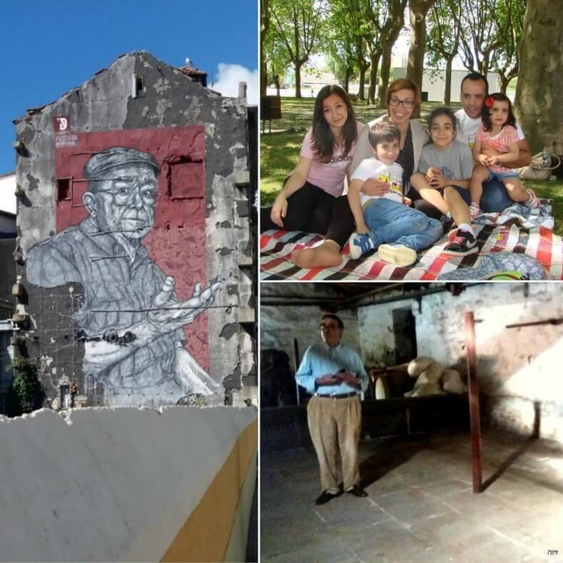 פסיפס אנושי בפורטוגל