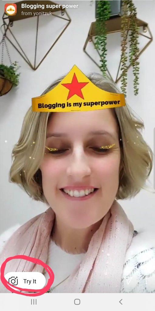 פילטר סלפיבאינסטגרם לבלוגים יונית צוק הבלוגריסטית