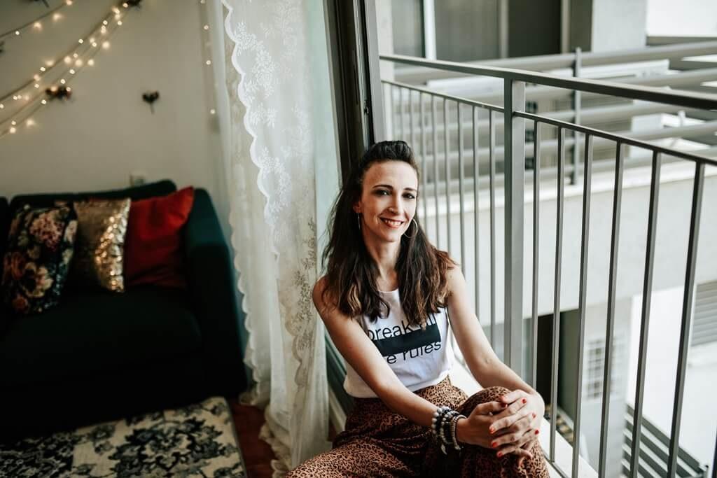 אנה ברודי, בלוגרית אופנה, מנהלת קהילת רכישות און ליין, יזמת פלטפורמה לשיווק שותפים ואפליאייטס